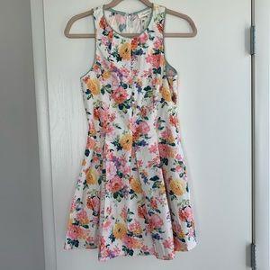 Sugar Life Floral Fit & Flare Dress